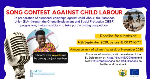 European Union Launches Music Contest Against Child Labour