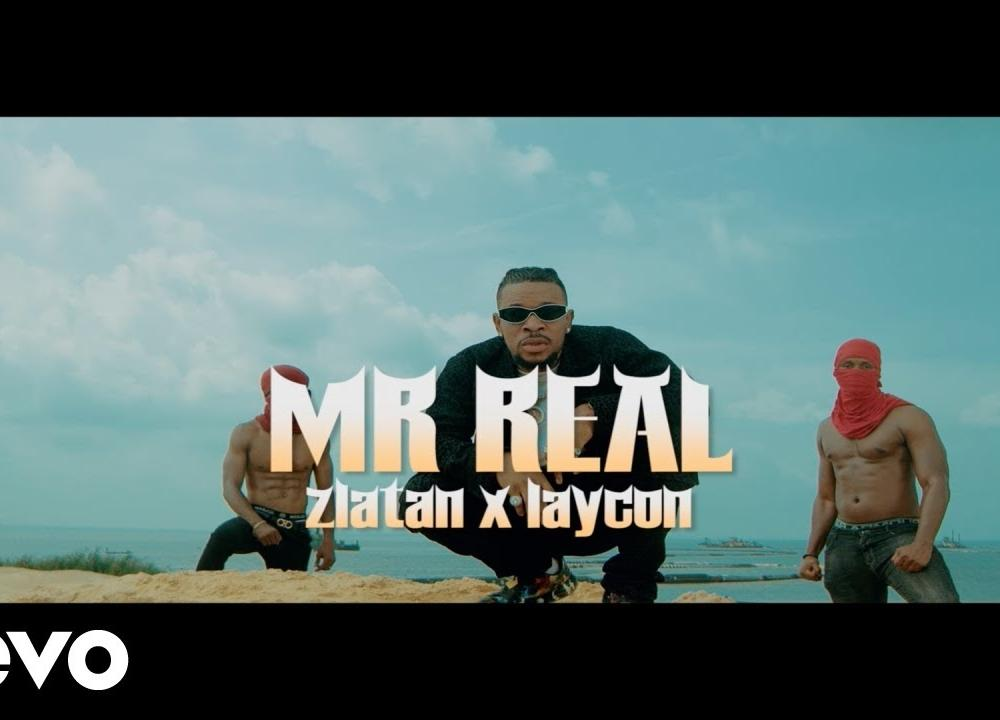 Mr Real - Baba Fela Remix ft. Zlatan, Laycon (Official Video)