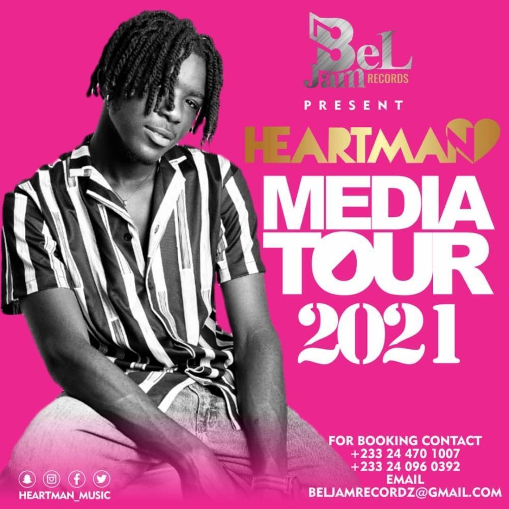 Fast-Rising Afro-Hiphop Artist HeartMan Announces Media Tour