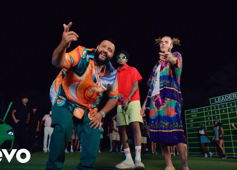 DJ Khaled - LET IT GO ft. Justin Bieber, 21 Savage (Official Video)