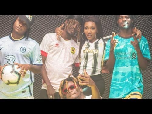 Wendy Shay - Champions League ft. Fameye, Kelvyn Boy, Quamina MP & Kofi Mole (Official Video)