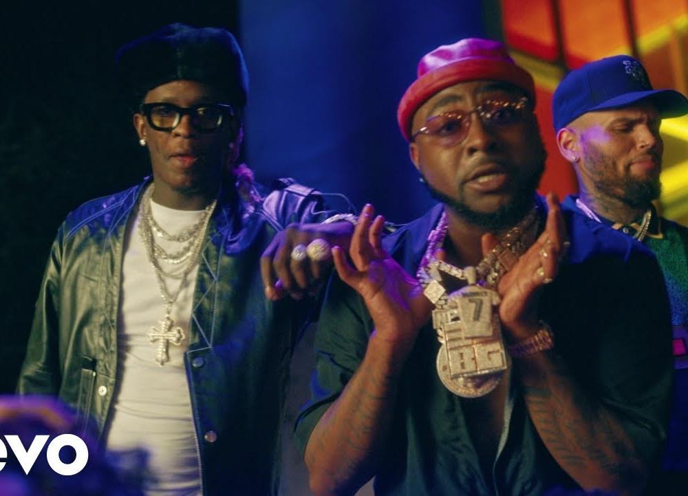 Davido - Shopping Spree ft. Chris Brown, Young Thug (Official Video)